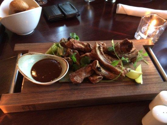 e.b.o Restaurant: Dry ribs