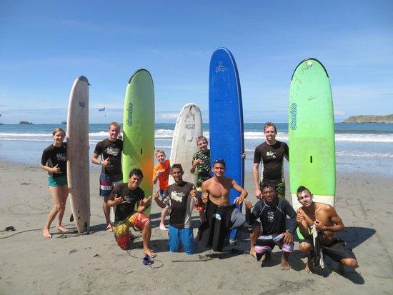 Pacific Trade Winds: surfing Manuel Antonio
