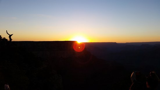 Great West Tours: Amazing sunset at the Grand Canyon