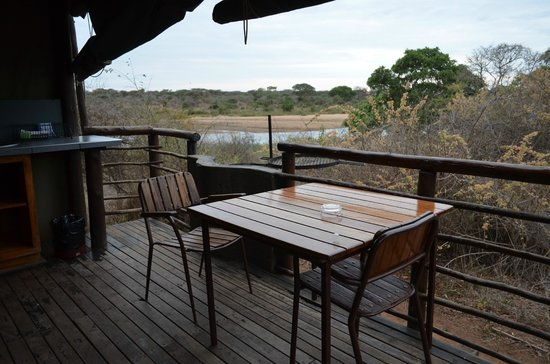 Lower Sabie Restcamp: Patio