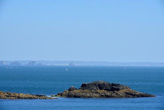 Phare de Saint Mathieu: La costa dal faro