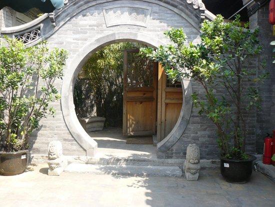 Courtyard 7: porche de l'accueil