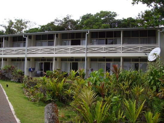 Scenic Matavai Resort Niue: room view from the garden