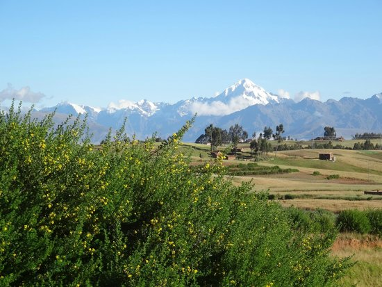 Heiliges Tal der Inka (Urubamba-Tal): 聖なる谷を望む地点より