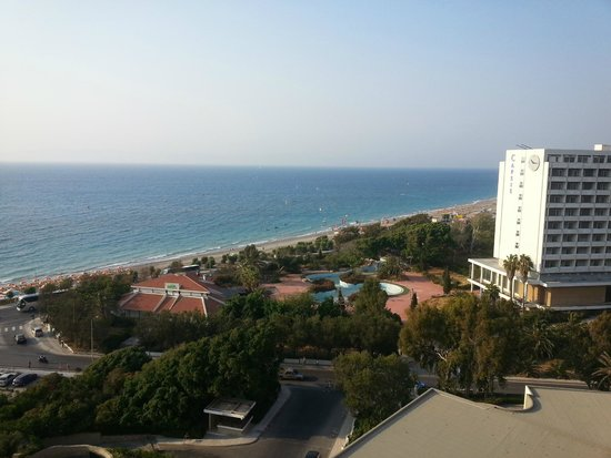 Rodos Palace: View from seafront room