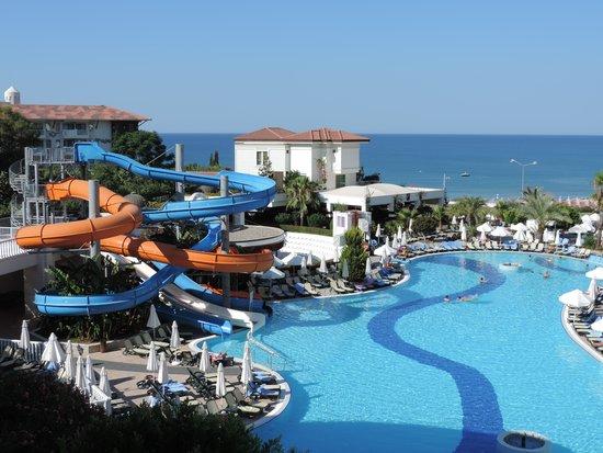 Alba Queen Hotel: Alba Queen uitzicht
