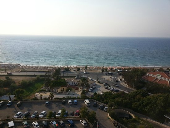 Rodos Palace: View from the room