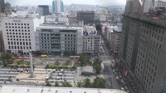 Kimpton Sir Francis Drake Hotel : View from King Corner Room