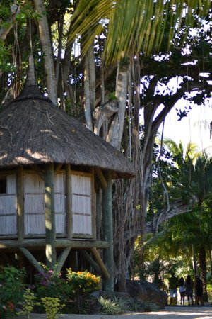 Canonnier Beachcomber Golf Resort & Spa: le salon de massage