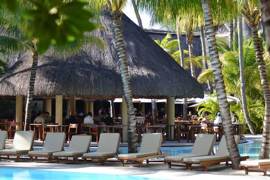 Canonnier Beachcomber Golf Resort & Spa: vue de l'un des restaurant