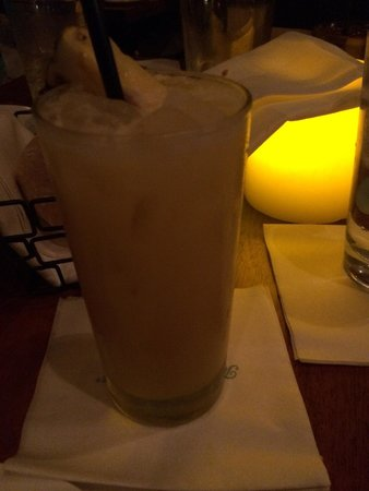 Tommy Bahama's Restaurant & Bar: The Chillax drink! A must have on Tommy Bahama National Relaxation Day! Which usually takes plac