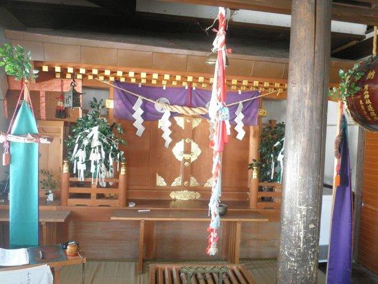 Gassan Shrine : 拝殿