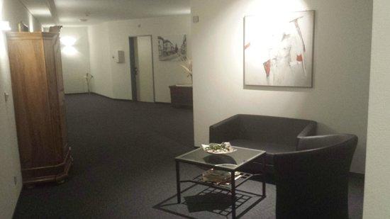 Sorell Hotel Speer: corridor