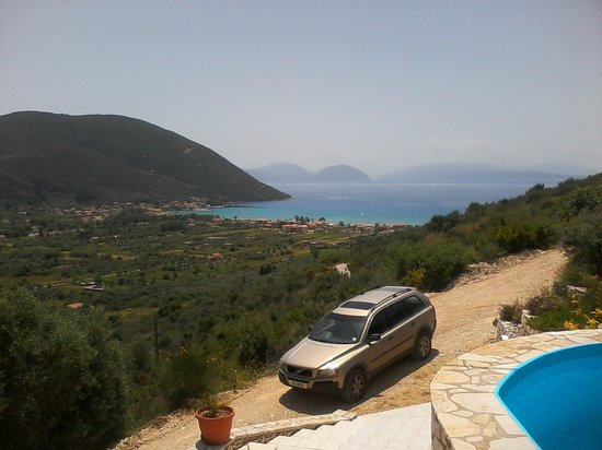 Vassiliki Bay Villas: SEA VIEW FROM COVERED TERRACE