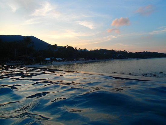 The Sarann: view from pool