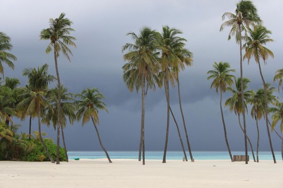 Gili Lankanfushi Maldives : Storm coming