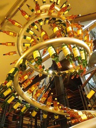 The Glenlivet Distillery: bottles bottles