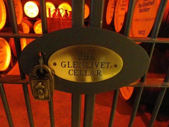 The Glenlivet Distillery: That's quite a cellar !