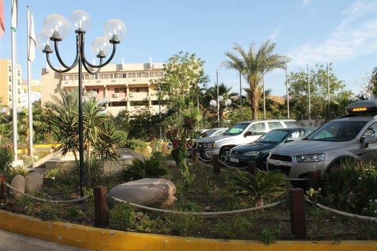 Aqaba Gulf Hotel: территория отеля