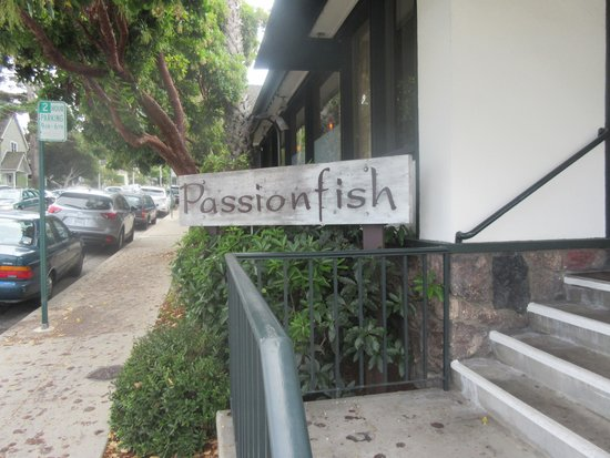 Passionfish Restaurant, Pacific Grove, Ca