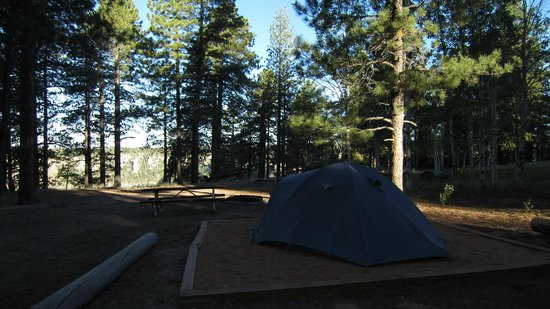 North Rim Campground: tent-only site