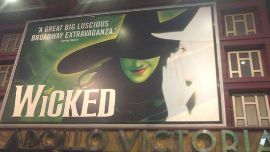 Wicked the Musical: εισοδος