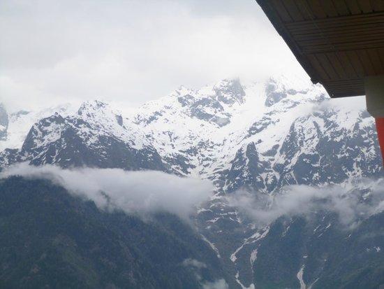 Rakpa Regency : view from the room balcony