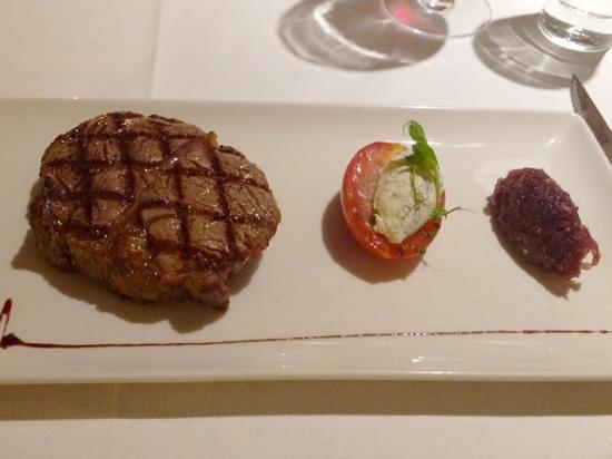 La Brasserie at the Sofitel London Gatwick: Rib-eye steak