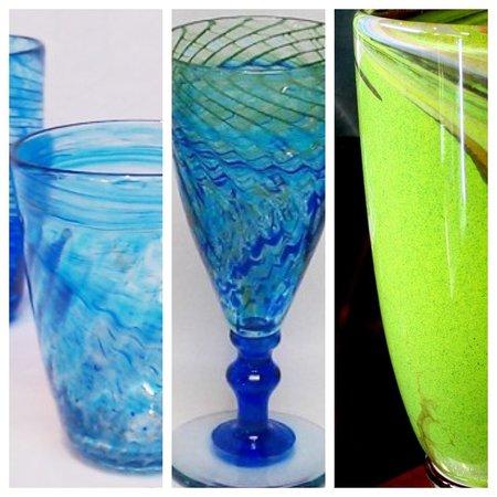 Melting Pot Glass Studio: Glassware by Gerry Reilly