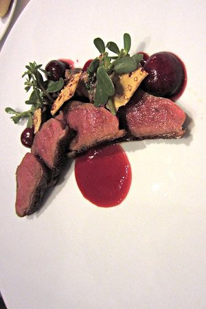 Providence: 9th Anniversary Tasting Menu 3rd course: Liberty Farms Duck Breast