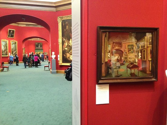 Scottish National Gallery: Now And Then
