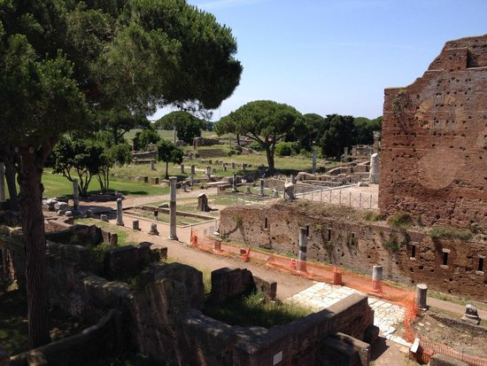 Ostia Antica: View of the ruins