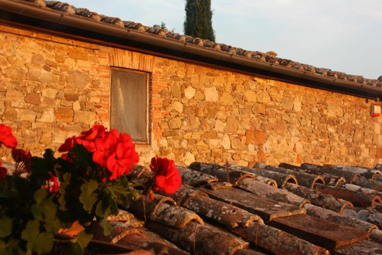 Hotel Belvedere Di San Leonino : Vieilles pierres et lumière du soir