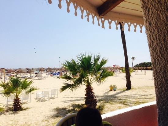SENTIDO Phenicia: view of beach from bbq
