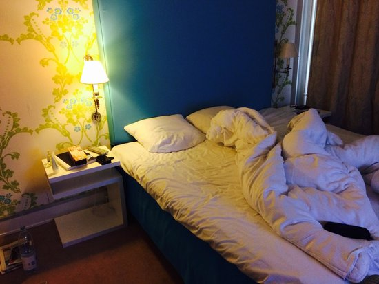 First Hotel Mayfair: Bed is so good, expect to sleep well