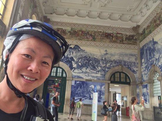 Bluedragon Porto City Tours: Ancient train station