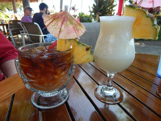 Cheeseburger In Paradise: Drinks were so good, I guess I posted it twice!