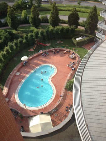 Novotel Venezia Mestre: Pool at height