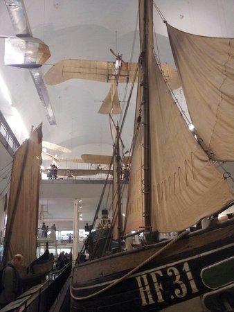 Deutsches Museum: Salle de la marine