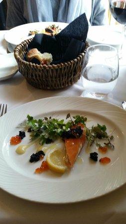 Lower Street Brasserie: The Salmon Starter