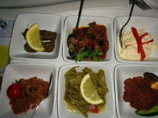 Imbat Restaurant : Aperitivos turcos! ����