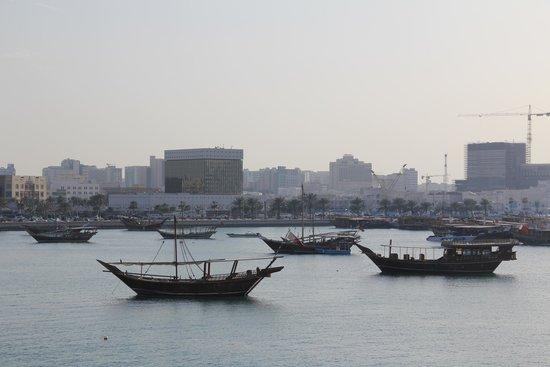 Musée d'art islamique : view of the dhow harbour