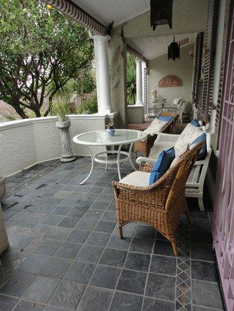Parker Cottage : terrasse