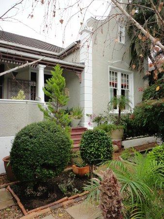Parker Cottage : L'extérieur
