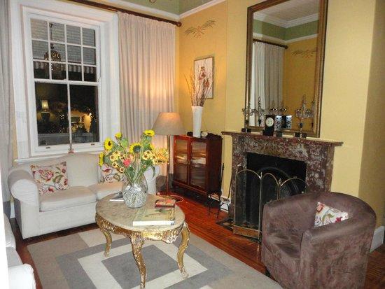 Parker Cottage : le salon