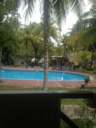Langkah Syabas Beach Resort: View from my room.