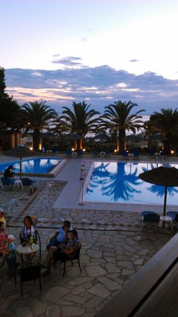 Blue Dolphin Hotel: Sunset at Blue Dolphine
