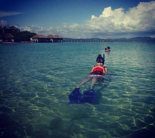 Huma Island Resort & Spa : Super fun