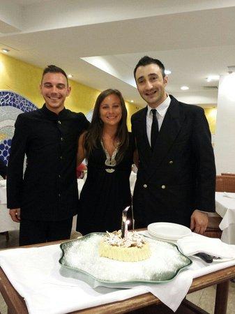 Hotel Maddalena : compleanno d francii