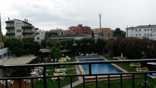 Hotel Flamingo: A rainy day Aug 2014